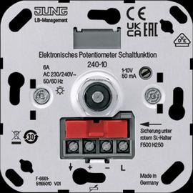 240-10 JUNG ELEKTRON. DREHPOTENTIOMETER 1-10V Produktbild