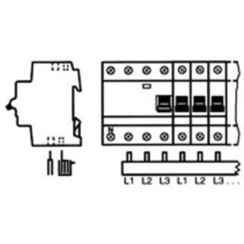 PS3/60A Stotz Phasenschiene 10mm L1/L2/L3 3pol Stift 1m Produktbild
