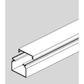 11030 GGK LFG 40X60 KABELKANAL REINWEISS HXB  INKL.KABELHALTEKLAMMERN Produktbild