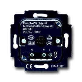 6805U BUSCH-JAEGER NEBENSTELLENEINSATZ 3-LEITER ZU WÄCHTER 180UP Produktbild