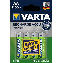 56706101404 VARTA RECHARGE ACCU Power AA (4STK.-BL.)2100mAh Mignon Produktbild