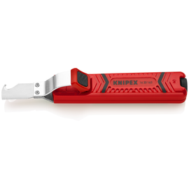 1620165SB KNIPEX KABELMESSER MIT Hakenklinge  0,8-28MM Produktbild