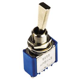 320-916 RS COMPONENTS MINI-KIPPSCHALTER 3A/1-POLIG E/E (BOHRUNG 6MM) Produktbild