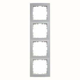 10148989 BERKER RAHMEN 4-FACH S1 POLARWEISS GLÄNZEND Produktbild