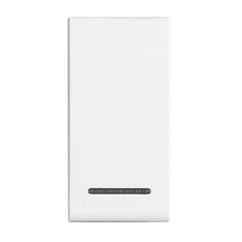 N4915M BTICINO LIGHT-WIPPE 1 MOD. FÜR SCHALTER Produktbild