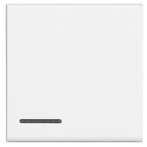 N4915/2M BTICINO LIGHT-WIPPE 2 MOD. FÜR SCHALTER Produktbild Front View L