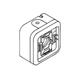 69718 LEGRAND FR AP JALOUSIESCHALTER 1-POLIG GRAU PLEXO IP55 Produktbild