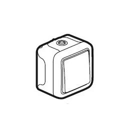 69760 LEGRAND FR AP TASTER 1-POLIG ULTRAWEISS PLEXO IP55 Produktbild