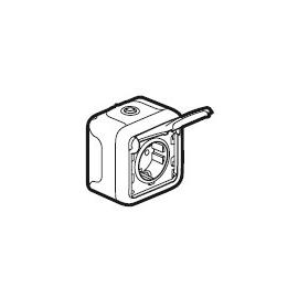 69770 LEGRAND FR AP SCHUKO- STECKDOSE ULTRAWEISS PLEXO IP44 Produktbild