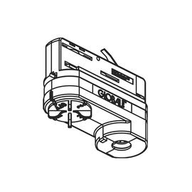 208-19130681 MOLTO LUCE NOA MULTIADAPTER 10KG XTSA 68-3 3-PHASEN WEISS Produktbild