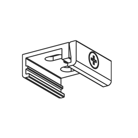 208-19180123 MOLTO LUCE NOA DECKEN- HALTERUNG SKB 12-3 3-PHASEN WEISS Produktbild