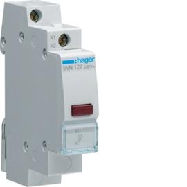 SVN122 HAGER MELDELEUCHTE LED  ROT VE-1TE Produktbild