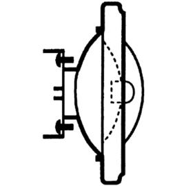 011769 OSRAM 41835 FL HALOSPOT-111 12V 50W 24-GRAD HALOGENLAMPE G53 EEI:C Produktbild