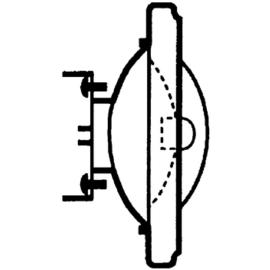 011783 OSRAM 41840 FL HALOSPOT-111 12V 75W 24-GRAD HALOGENLAMPE G53 EEI:B Produktbild