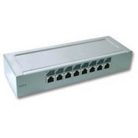 172478 IC-INTRACOM AP-MINI-PATCH PANEEL 8-PORT CAT6E Produktbild