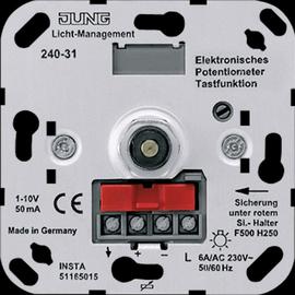 240-31 JUNG ELEKTRONISCHES POTENTIOMETER Z. REGELUNG Produktbild