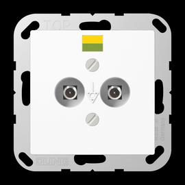 A565-2WW JUNG POTENTIALAUSGLEICH- STECKDOSE Produktbild