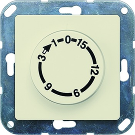 5TT1012 SIEMENS UP-ZEITSCHALTUHR 15 MIN. 2POLIG,1 6A ELEKTROWEISS,DELTAI-SYSTEM Produktbild