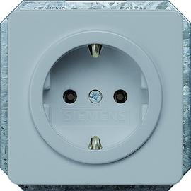 5UB1467 SIEMENS UP-SCHUKO-STECKDOSE SILBER DELTAPROFIL Produktbild