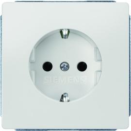 5UB1855 SIEMENS UP-SCHUKO-STECKDOSE M. SHUTTER TITANWEISS,DELTASTYLE Produktbild