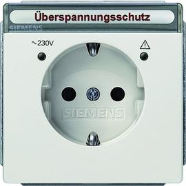 5UB1858 SIEMENS UP-SCHUKOSTECKD.M.ÜBER- SPGSSCH.SCHRIFTF.SHUTTER TITANWS,DEL Produktbild