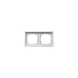 alpinweiß JUNG CD500 Rahmen Kunststoff glänzend 1f für Geräteeinbaukanal