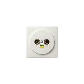 40540 GIRA POTENTIALAUSGLEICH- DOSE 2FACH S- COLOR REINWEISS Produktbild
