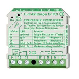 FE3SE9 SCHALK FUNK EMPFÄNGER UP 230VAC 1W 10A Produktbild