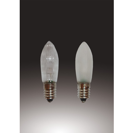 912234 HELLUM LED KERZE GERIFFELT 12V 0,1W E10 MATT 3ER-BLI(F.20TLG.KETTE) Produktbild