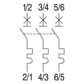 566838 GE EP103C13 LEITUNGSSCHUTZSCH. 3POL. 13/3/C 10KA ELFA PLUS Produktbild