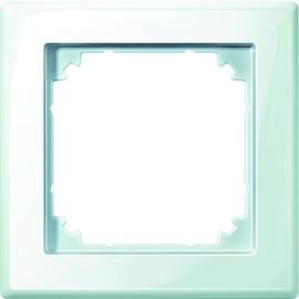 478119 MERTEN RAHMEN 1-FACH M-SMART POLARWEISS GLÄNZEND Produktbild