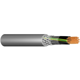 YSLCY-JZ 5X16 grau Messlänge PVC-Steuerleitung CU-Geschirmt Produktbild