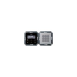 2280203 GIRA UP RADIO RDS E22 ALUMINIUM Produktbild