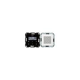 228003 GIRA UP RADIO RDS SYSTEM 55 REINWEISS GLÄNZEND Produktbild