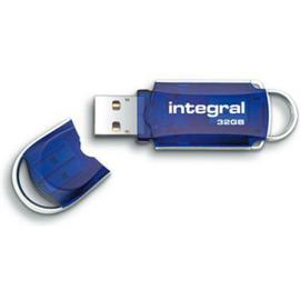 86-66-34 INFD32GBCOU INTEGRAL USB-STICK COURIER 32GB Produktbild