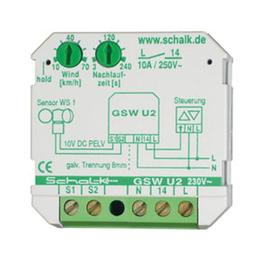 GSWU29 SCHALK GRENZWERTSCHALTER FÜR WIND GSWU2 230VAC UP 2-8BFT. Produktbild