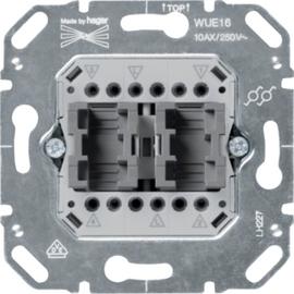 WUE16 HAGER WECHSEL/WECHSEL-SCHALTER KALLYSTO Produktbild