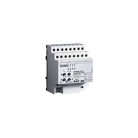 103600 GIRA KNX/EIB SCHALTAKTOR 4F. 16A/ JALOUSIEAKTOR 2F. 16A REG PLUS Produktbild
