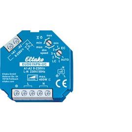 6110 0801 ELTAKO EUD61NPN-UC + LED 400W UNIVERSALDIMMER F. DOSENEINBAU Produktbild