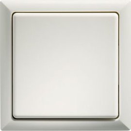 3000 0700 ELTAKO FT4F-WS FUNKTASTER WEISS MIT WIPPE UND DOPPELWIPPE Produktbild