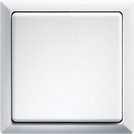 3000 0702 ELTAKO FT4F-RW FUNKTASTER REINWEISS MIT WIPPE UND DOPPELWIPPE Produktbild