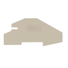 1837070000 Weidmüller PAP PDL4S Abschlussplatte für PDL4S beige Produktbild