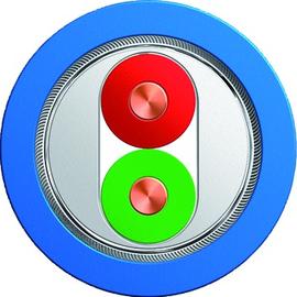 6XV1830-5EH10 SIEMENS SIMATIC NET BUSL. F.INTERBUS MANTELFAR. BLAU GESCH. Produktbild