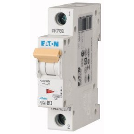 242178 EATON PLSM-B13-MW LEITUNGSSCHUTZ SCHALTER 13A 1-POLIG 1TE 10KA Produktbild