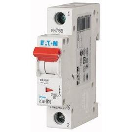 242202 EATON PLSM-C10-MW LEITUNGSSCHUTZ SCHALTER 10A 1-POLIG 1TE 10KA Produktbild