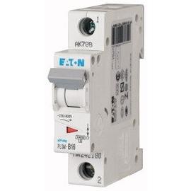 242206 EATON PLSM-C16-MW LEITUNGSSCHUTZ SCHALTER 16A 1-POLIG 1TE 10KA Produktbild