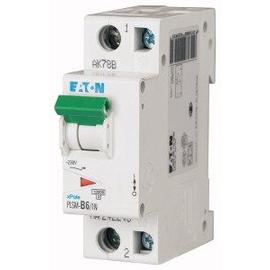 242266 EATON PLSM-C6/1N-MW LEITUNGSSCH. SCHALTER 6A 1P+N 1,5TE 10KA Produktbild