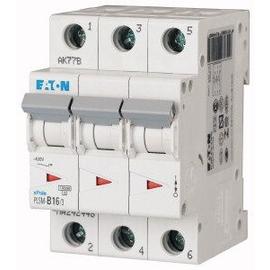 242474 EATON PLSM-C16/3-MW LEITUNGSSCH. SCHALTER 16A 3-POLIG 3TE 10KA Produktbild