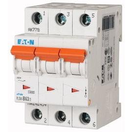 242480 EATON PLSM-C63/3-MW LEITUNGSSCH. SCHALTER 63A 3-POLIG 3TE 10KA Produktbild