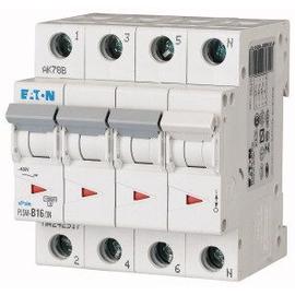 242517 EATON PLSM-B16/3N-MW LEITUNGSSCH. SCHALTER 16A 3P+N 4TE 10KA Produktbild